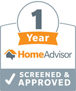 1 Year With HomeAdvisor Screened Approved